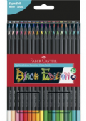 Faber Castell Black Edition Colour Pencils - 36pcs - FC-116436